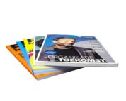 Magazines gelijmd
